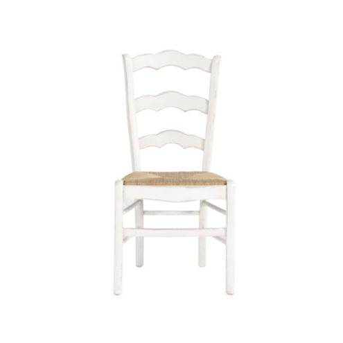 Casa Florentina Genoa Side Chairs with Rush Seat