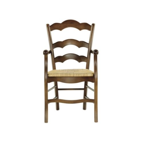 Casa Florentina Genoa Armchair with Rush Seat