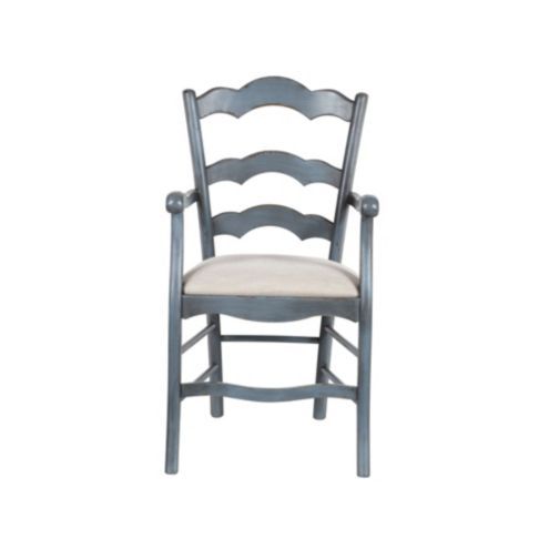Casa Florentina Genoa Armchair with Linen Seat