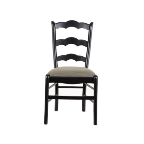 Casa Florentina Genoa Side Chairs with Linen Seat