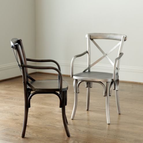 Constance Metal Arm Chairs | Set of 2