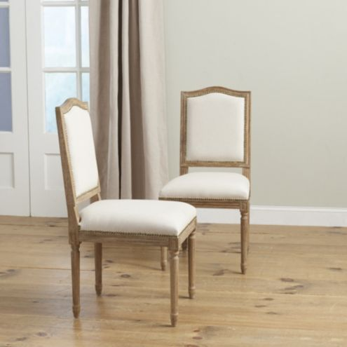 Antonia Camelback Dining Chairs - Set of 2