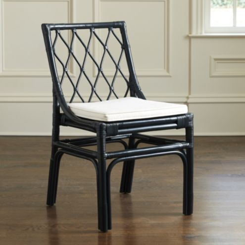 Vivian Rattan Dining Chairs - Set of 2