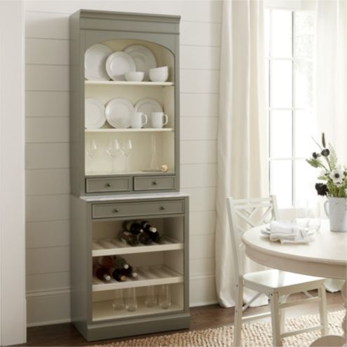 Paulette Server with Shelf Console
