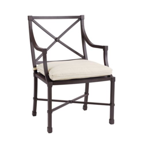 Set of 2 Suzanne Kasler Directoire Outdoor Armchairs