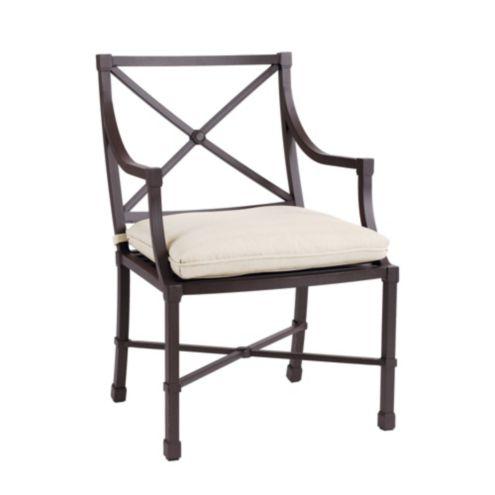 Set of 2 Suzanne Kasler Directoire Outdoor Armchairs