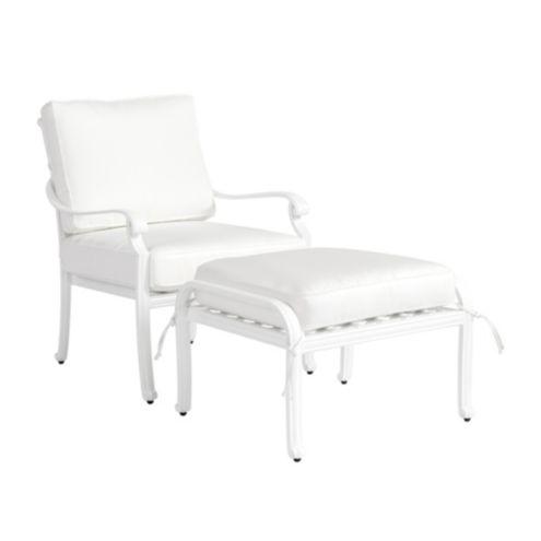 Maison Outdoor Lounge Chair & Ottoman