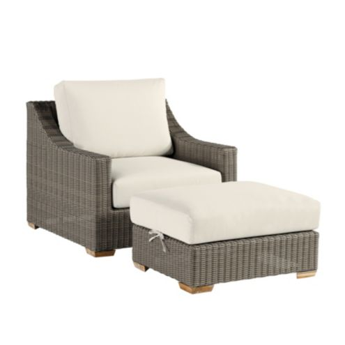 Sutton Lounge Chair & Ottoman