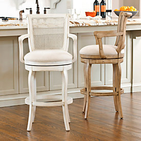Berkshire Counter Stool With Arms Ballard Designs