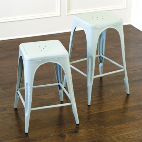 Marian Metal Backless Counter Stool