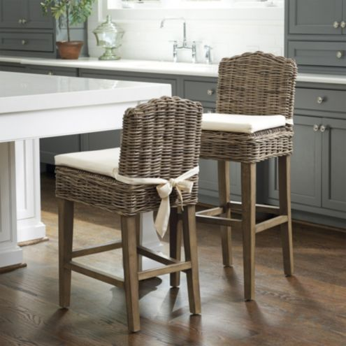 Rosalind Wicker Counter Stool