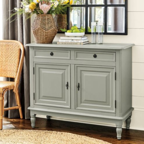 Dehaviland 2-Drawer Console - Solid Pine