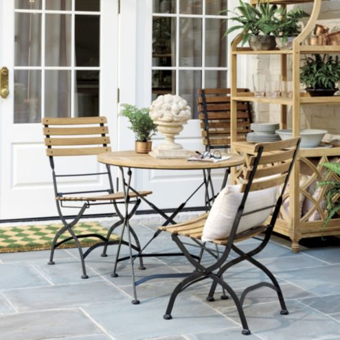 Giardino 3 Piece Cafe Set with Side Chairs
