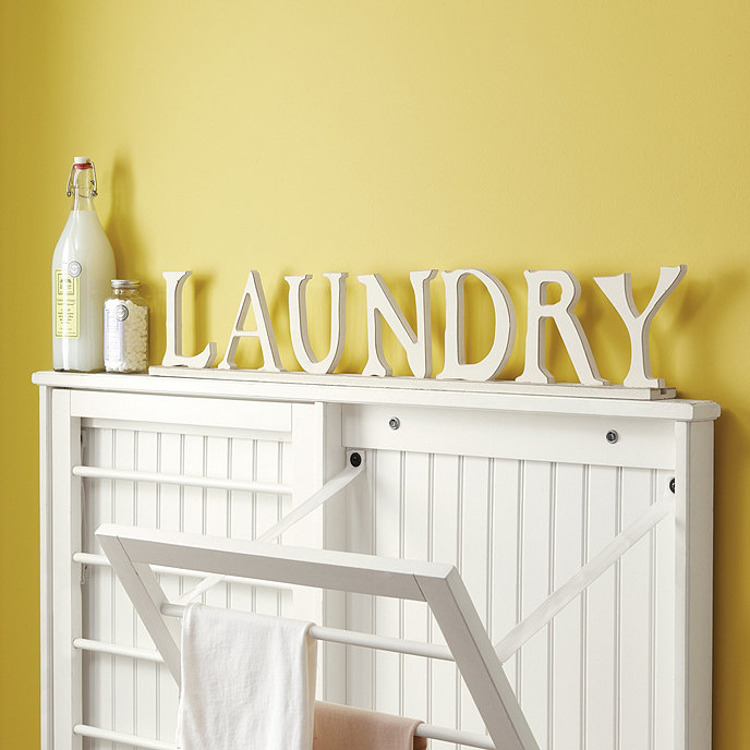 laundry letters ballard designs With laundry letters