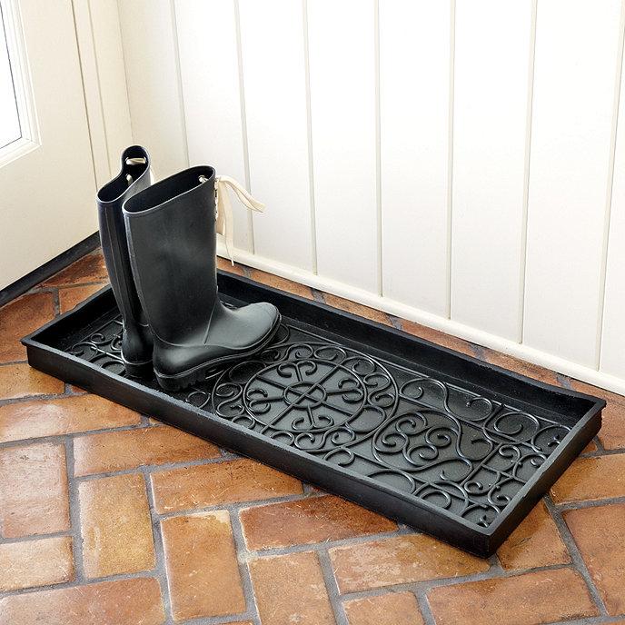 Rubber Boot Tray Oversized Ballard Designs