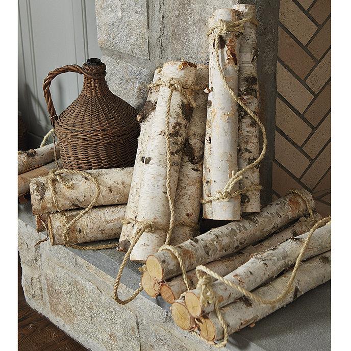 Birch Log Bundles Ballard Designs