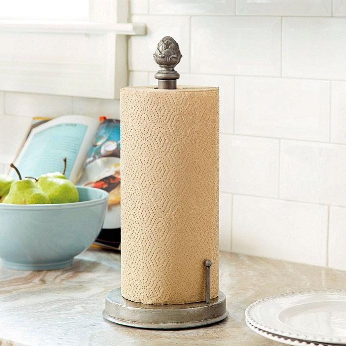 Countertop Towel Holder : Artichoke Countertop Paper Towel Holder Ballard Designs