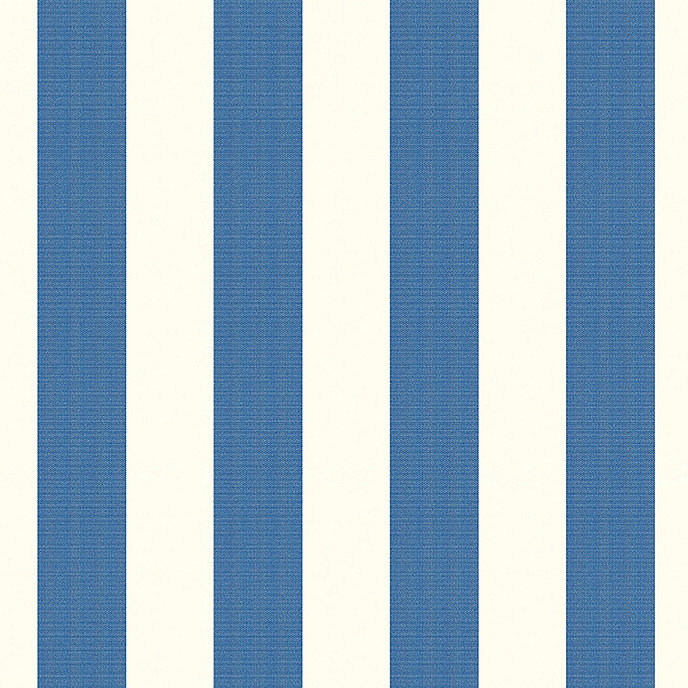 Canopy stripe azure white sunbrella fabric by the yard Sunbrella fabric by the yard