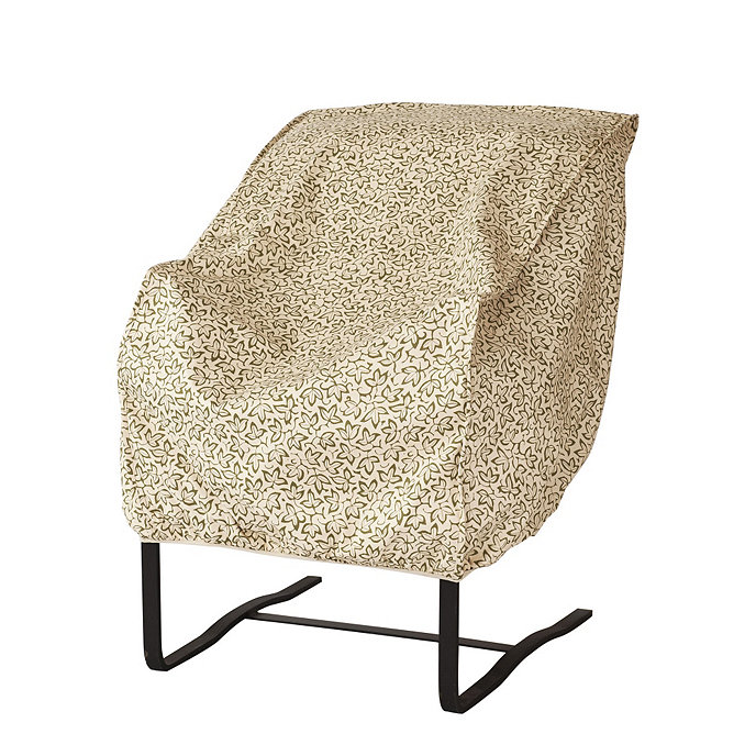 Outdoor High Back Chair Cover Ballard Designs