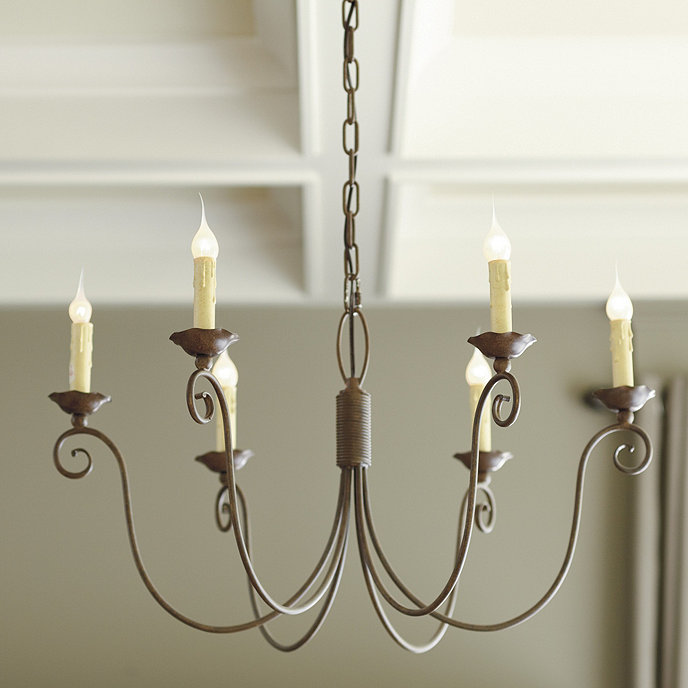 Ballards Lighting: Cosette 6-Light Chandelier