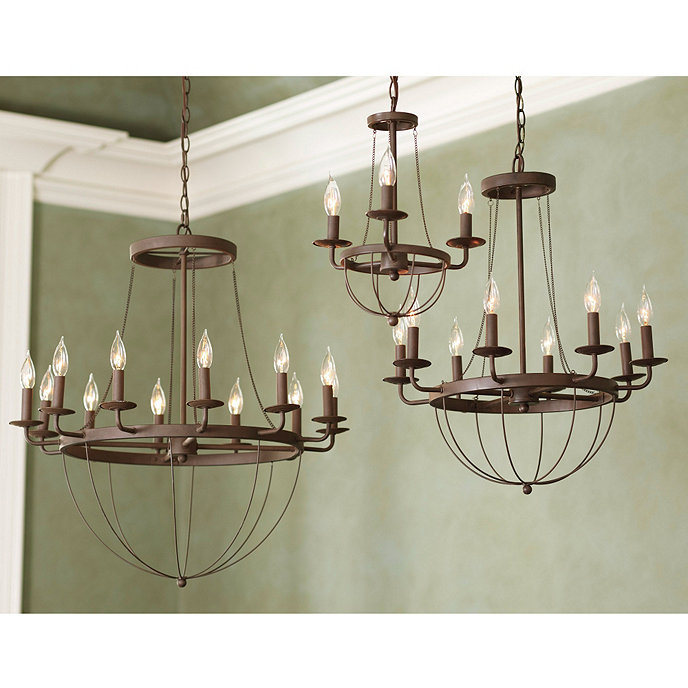 Ballards Lighting: Lourdes 12-Light Chandelier