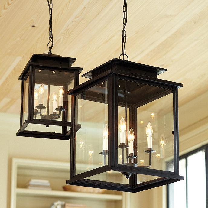 Lantern Light Fixtures Light Decorating Ideas