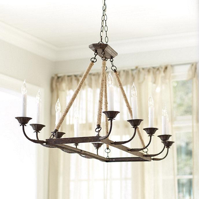 laurenza rectangle chandelier ballard designs. Black Bedroom Furniture Sets. Home Design Ideas