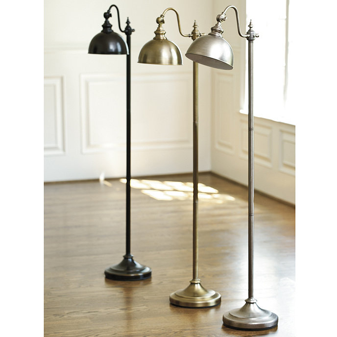 bradley task floor lamp ballard designs With ballard brass floor lamp