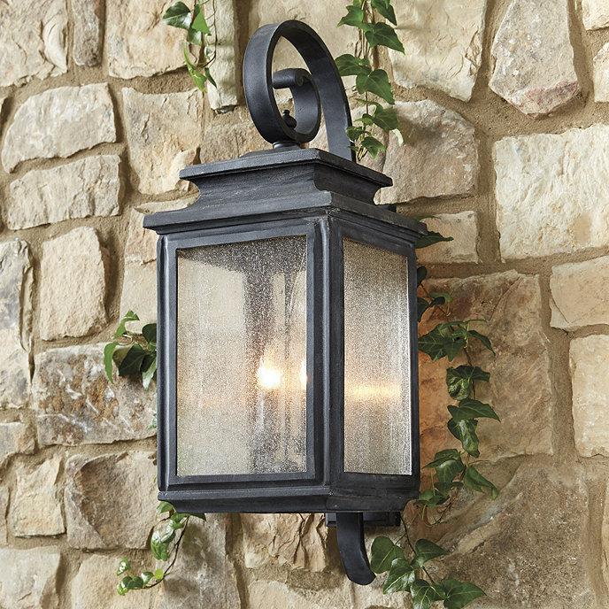 dawson outdoor lantern ballard designs. Black Bedroom Furniture Sets. Home Design Ideas