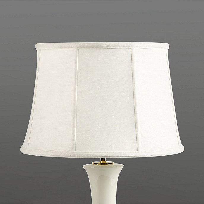 couture tapered drum lamp shade ballard designs. Black Bedroom Furniture Sets. Home Design Ideas