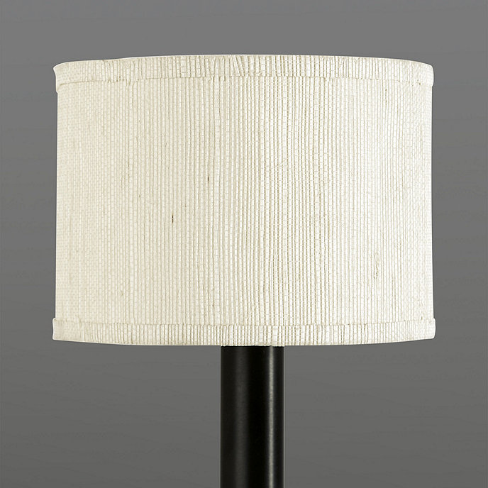 Grasscloth Drum Chandelier Shade