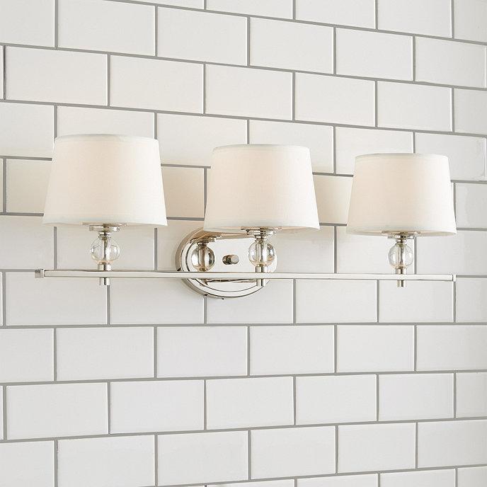Ballard Design Bathroom Vanity : Olivia light vanity ballard designs