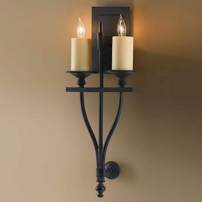 Ballards Lighting: Newcastle 2- Light Sconce