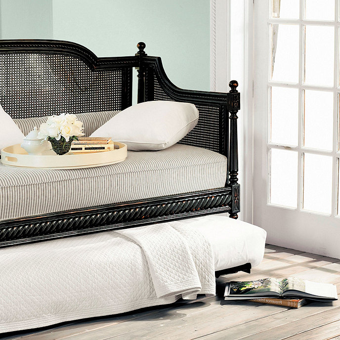 louis daybed with trundle. Black Bedroom Furniture Sets. Home Design Ideas
