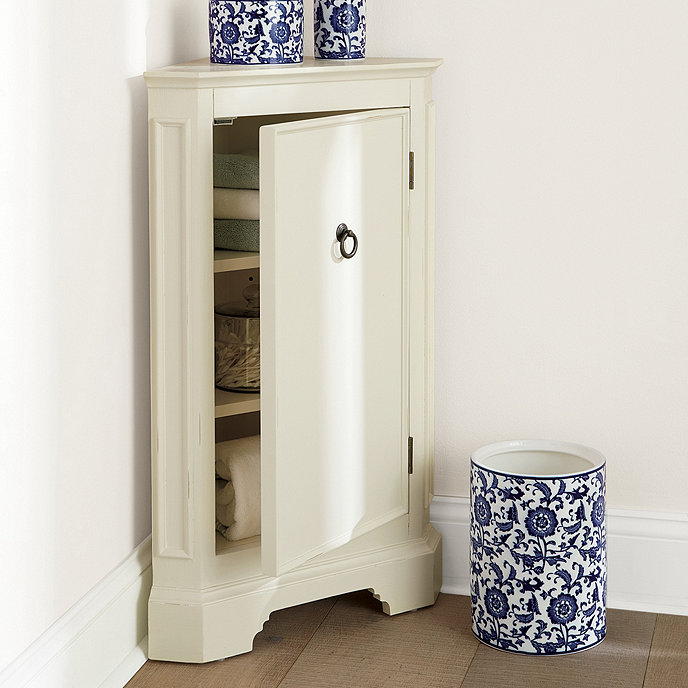 bathroom corner cabinet storage ideas