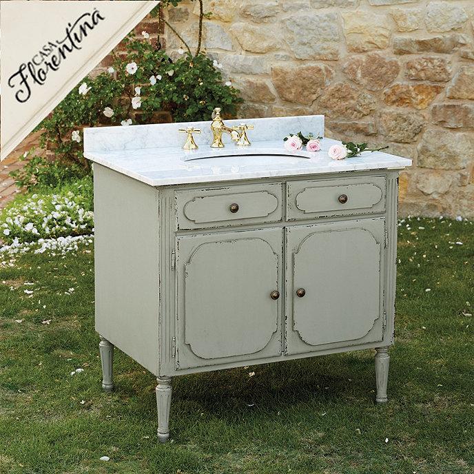 Ballard Design Bathroom Vanity : Casa florentina casoria single bath vanity ballard designs