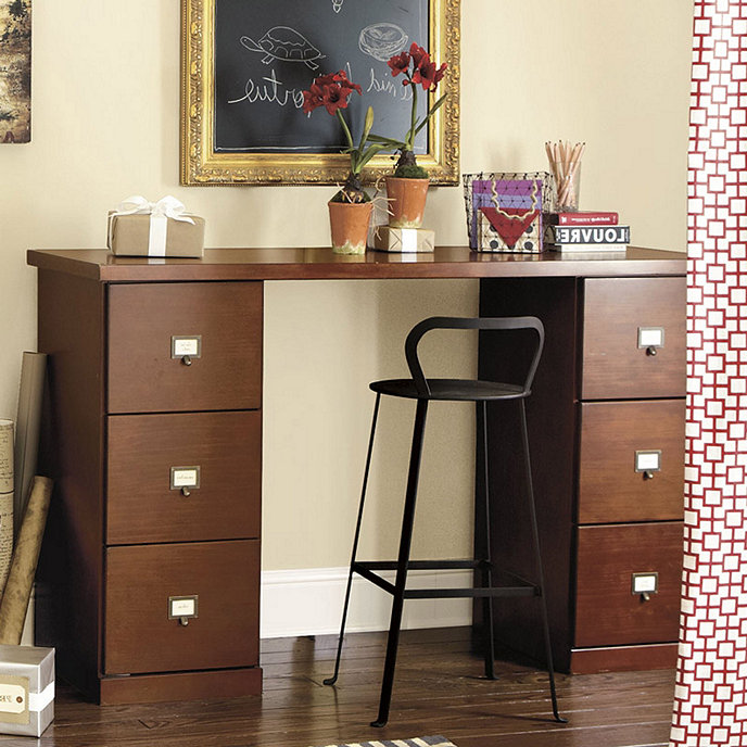 Original Home Office Project Height Desk Ballard Designs
