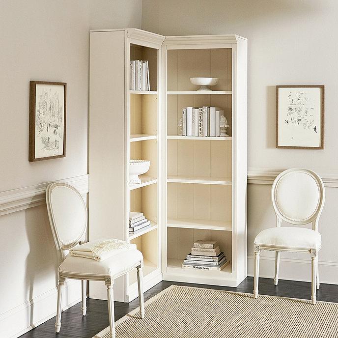 Tuscan Corner Bookcase  Ballard Designs