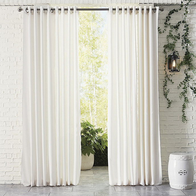 sunbrella outdoor curtains for a better home interiors