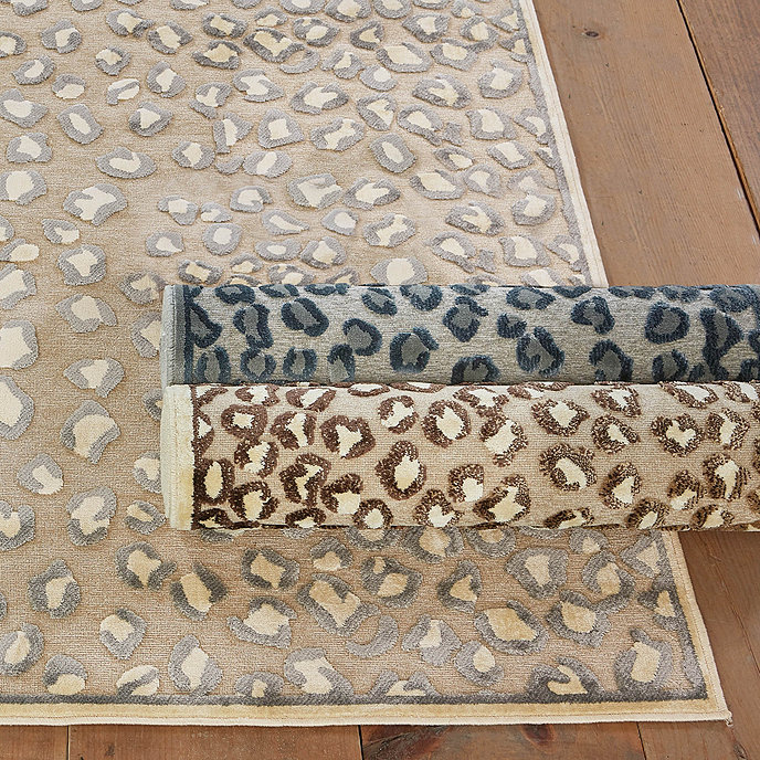 Celine Cheetah Rug Ballard Designs