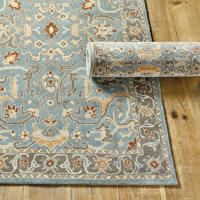 Irving Hand Tufted Rug Ballard Designs