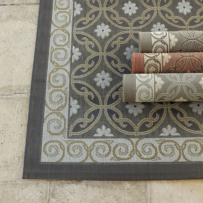 ravello indoor outdoor rug rugs ballard designs ForIndoor Out Door Rugs