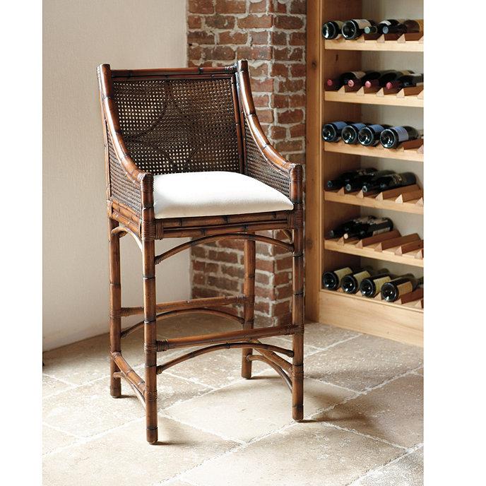 Bella Cane Bar Stool | Chairs | Seating | Ballard Designs