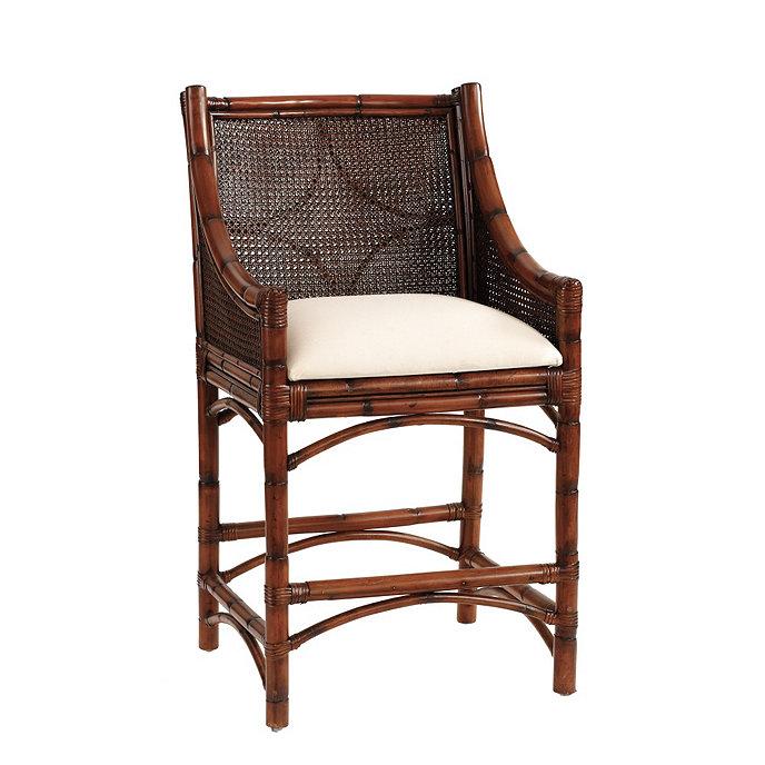 Bella Cane Counter Stool Chairs Seating Ballard Designs