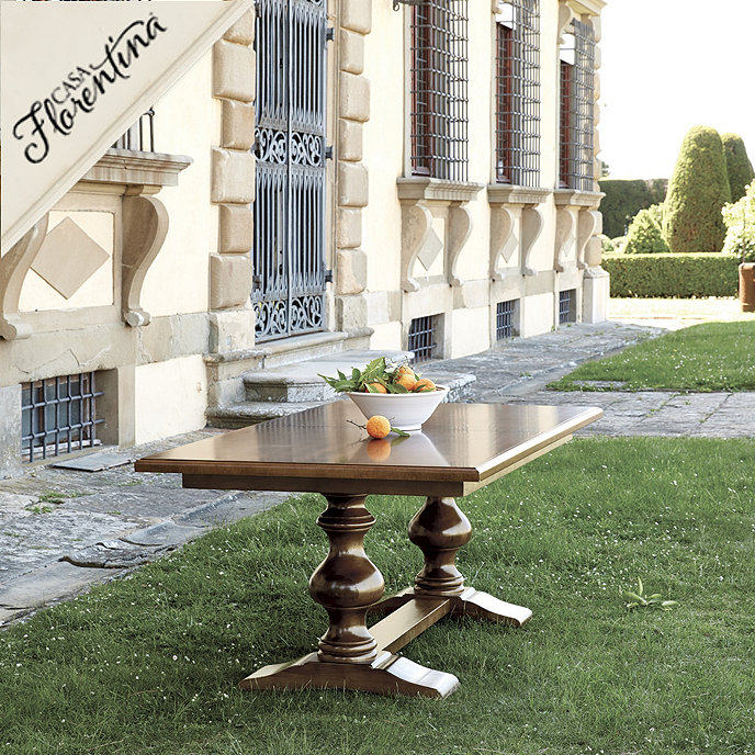 Tarvine Double Pedestal Dining Table | European | Inspired Home ...