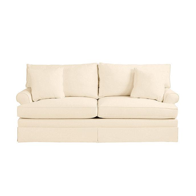 Davenport sofa slipcover special order fabrics for Sofa cushion covers made to order