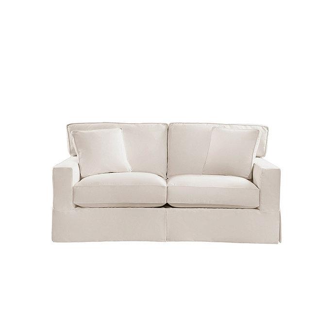 Graham apartment sofa slipcover ballard designs for Ballard designs sectional sofa