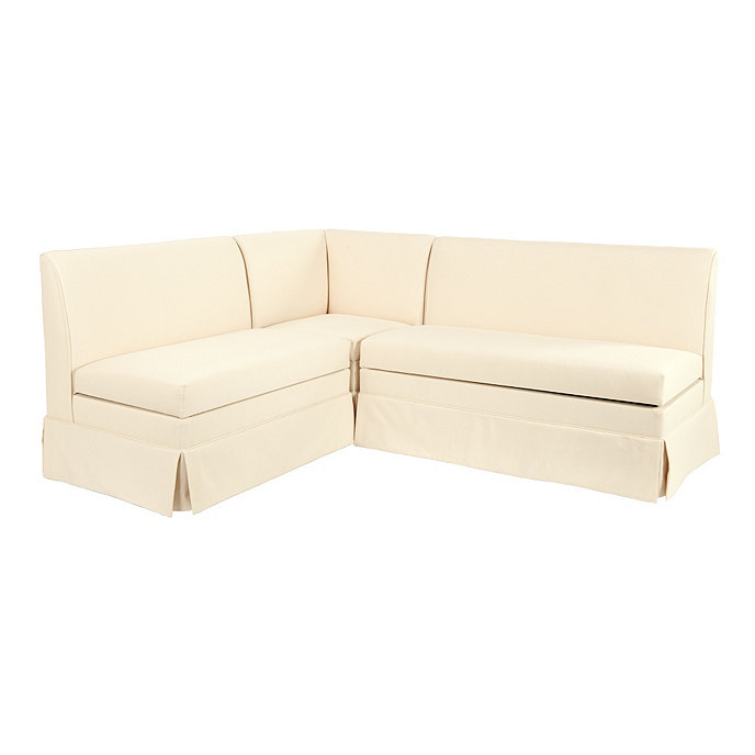 Coventry sectional corner bench 36 bench and 48 bench for Ballard designs bench seating