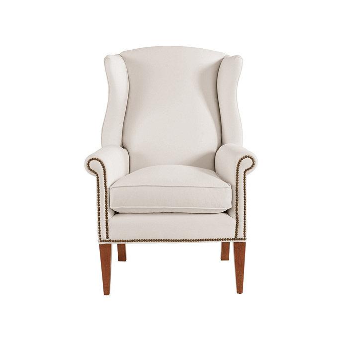 Helmes Wing Chair | Ballard Designs