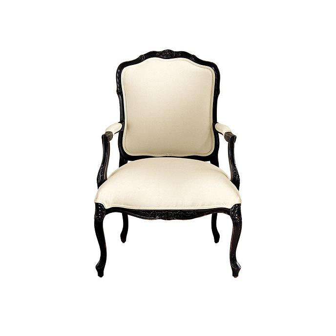 Louis xv salon chair ballard designs - Louis th chairs ...